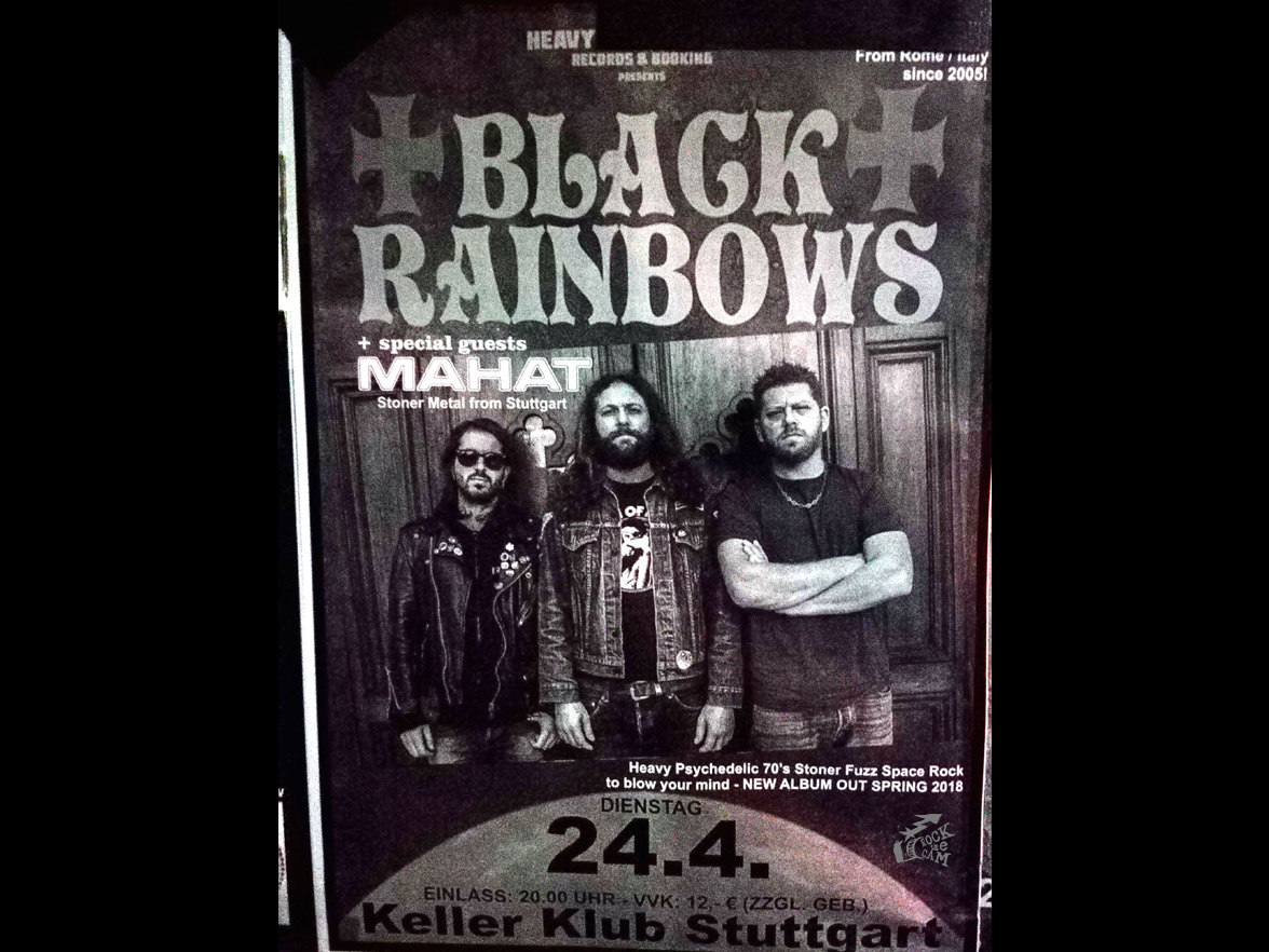Black Rainbows - Pandaemonium - Stuttgart 2018