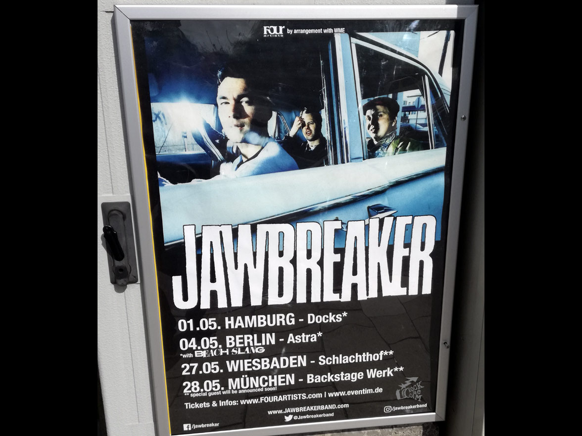 Jawbreaker - Tour Poster Munich 2019