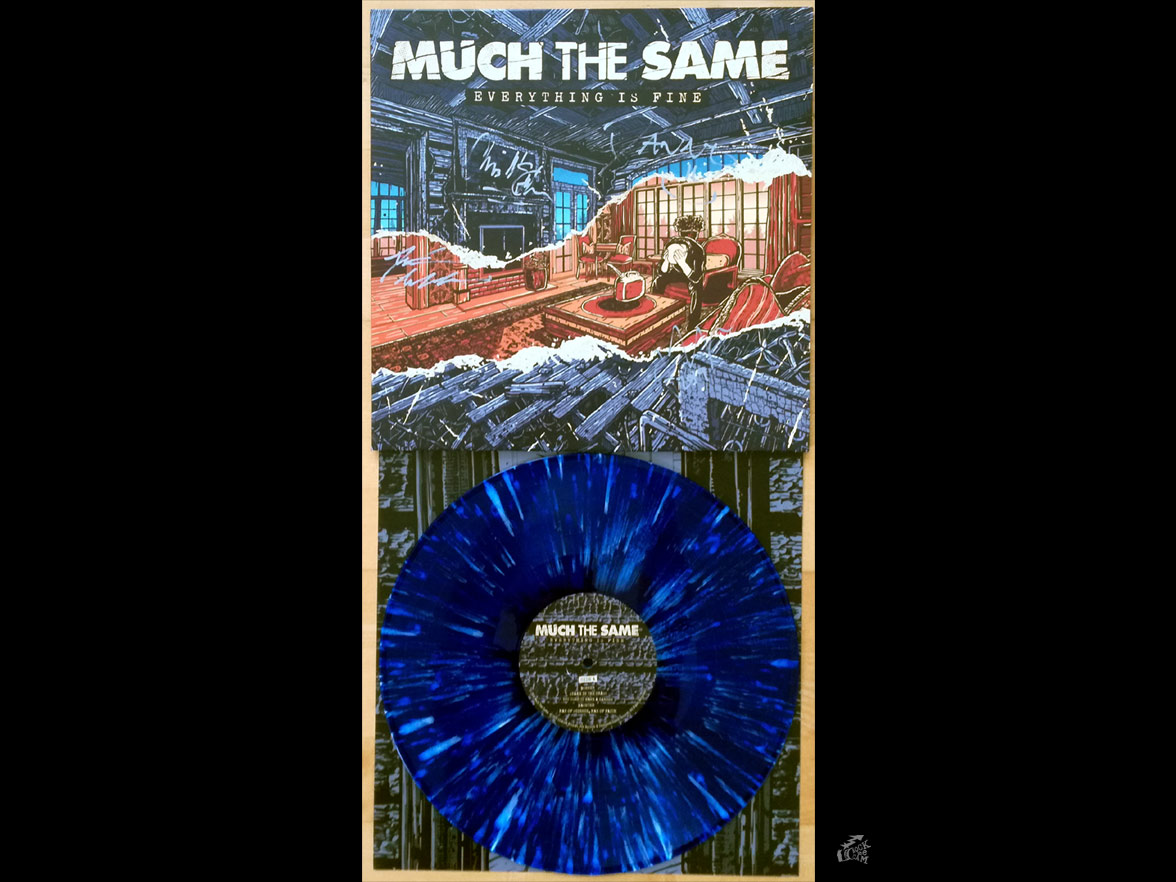 MUCH THE SAME - everything is fine - Lockjaw Records